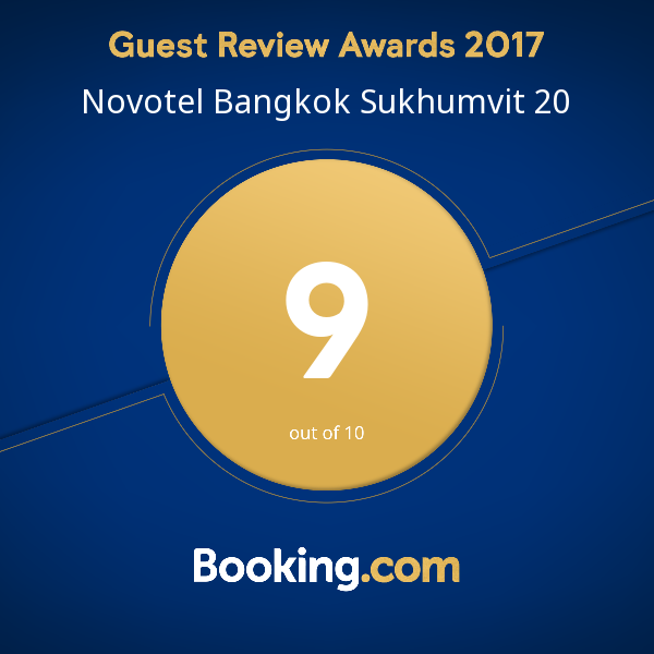 Revew Certificate Novotel Bangkok Sukhumvit 20